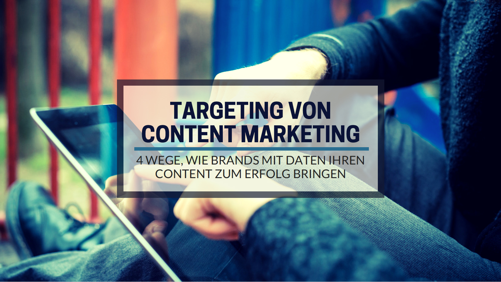 Targeting von Content Marketing