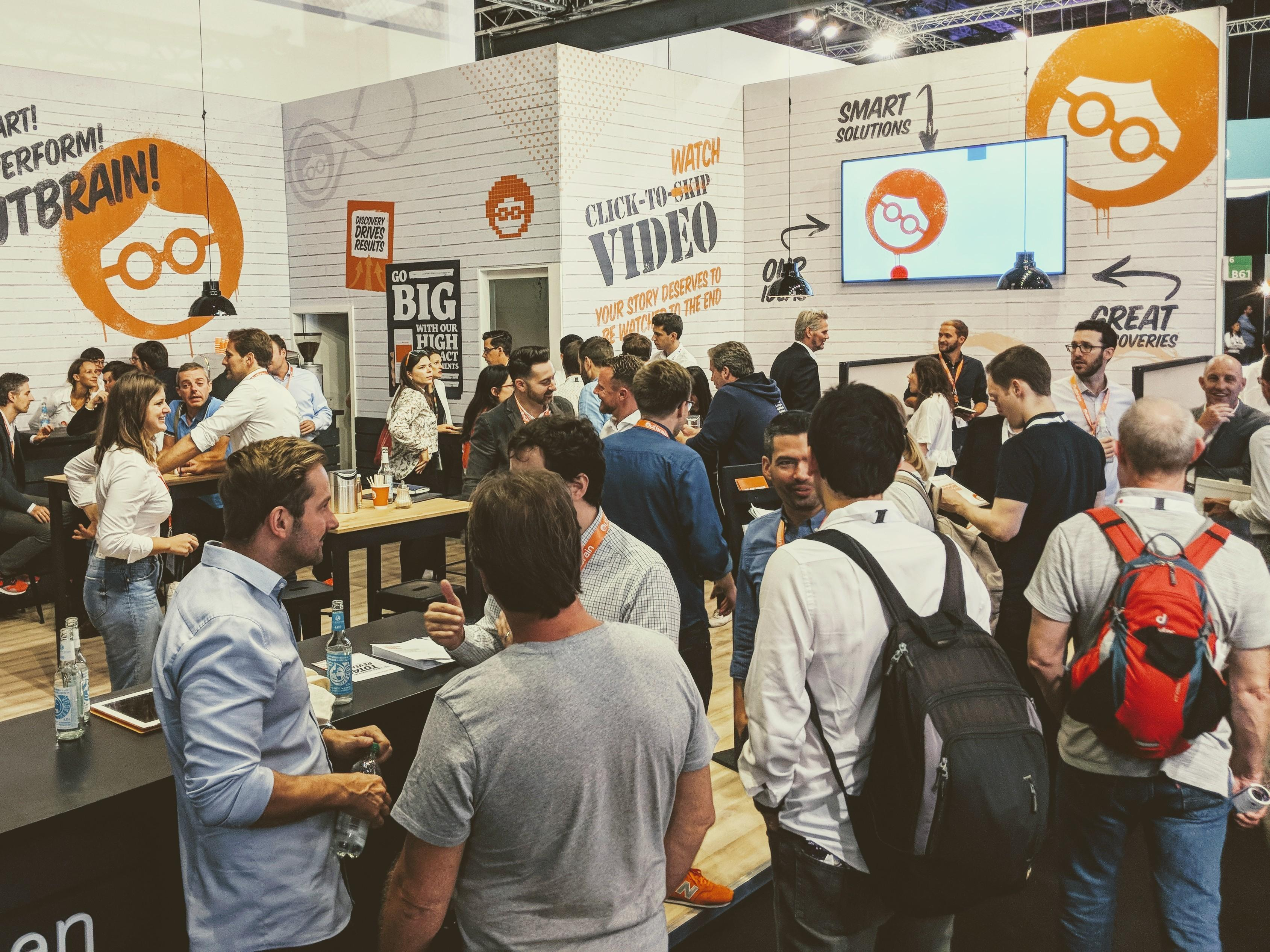 Outbrain DMEXCO 2018