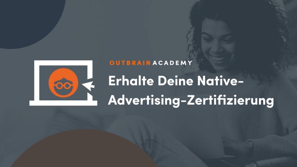 Outbrain Academy Native Expert