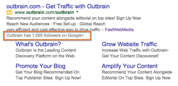 outbrain google