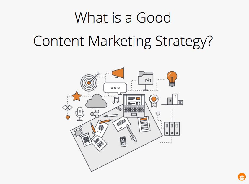 une bonne stratégie de marketing de contenu