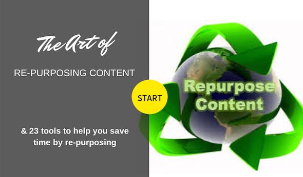 23 Tools for repurposing content