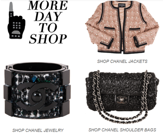 One More Day To Save On Chanel