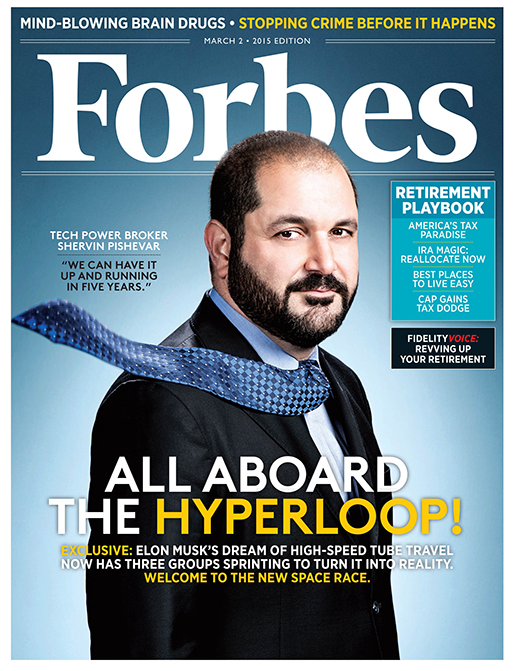 Cover of the latest Forbes Issue