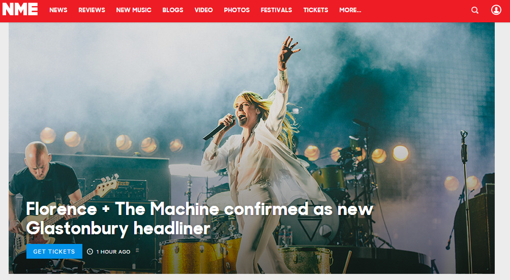 site of the week; NME.com