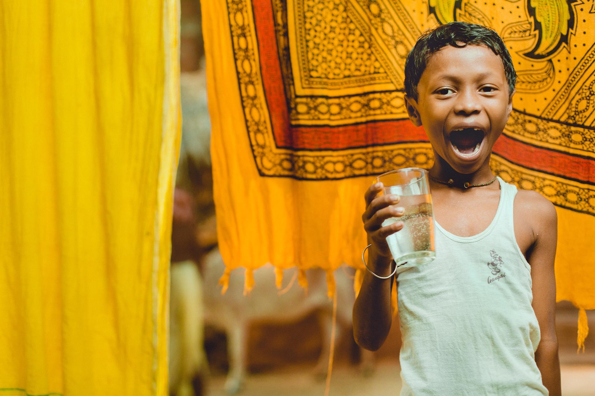 photo: charity water India