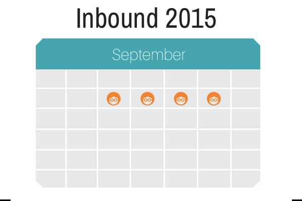 Inbound 2015 Calendar