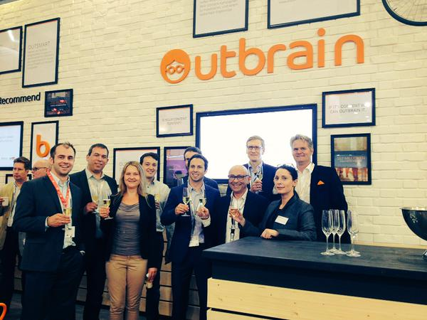 photo; Outbrain and BILD at Dmexco