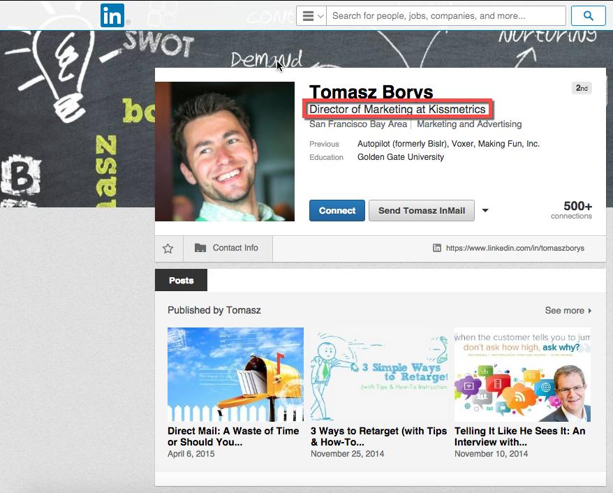 Tomasz Borys LinkedIn
