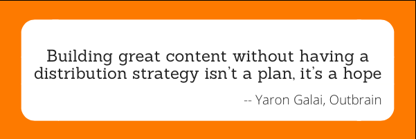 Yaron Galai Quote from Content Israel 2015