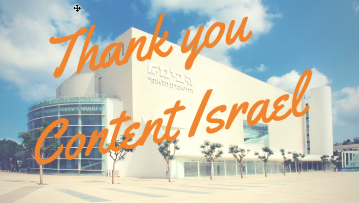 Thank You Content Israel
