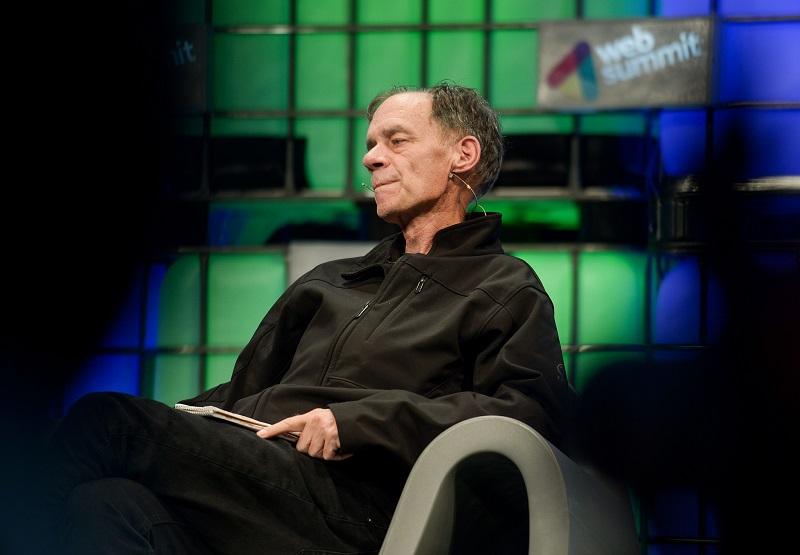 photo; David Carr at the Web Summit 2014