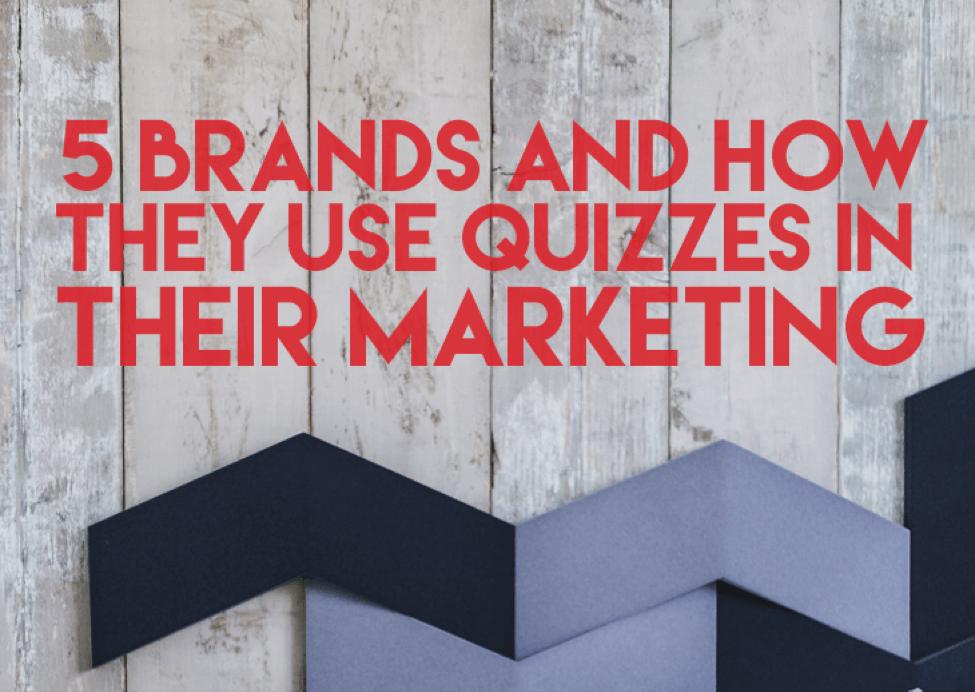 5 Brand Quiz Examples