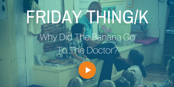 Why Did The Banana Go To The Doctor?