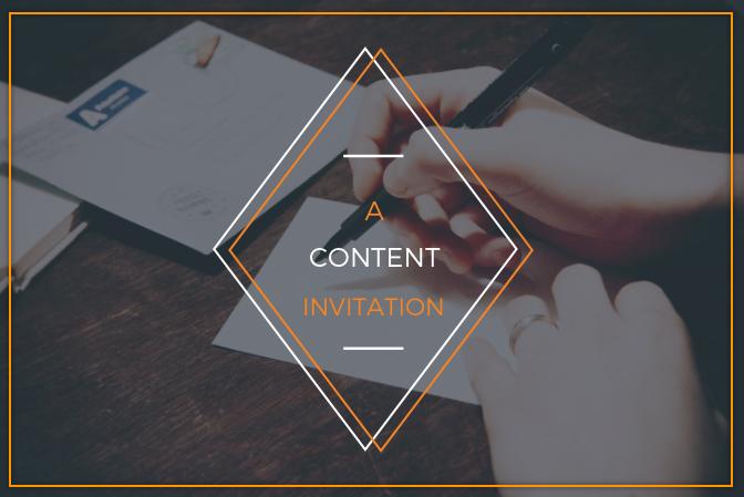 Content Invitation