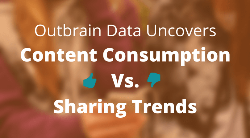 Consuming vs. Sharing Content