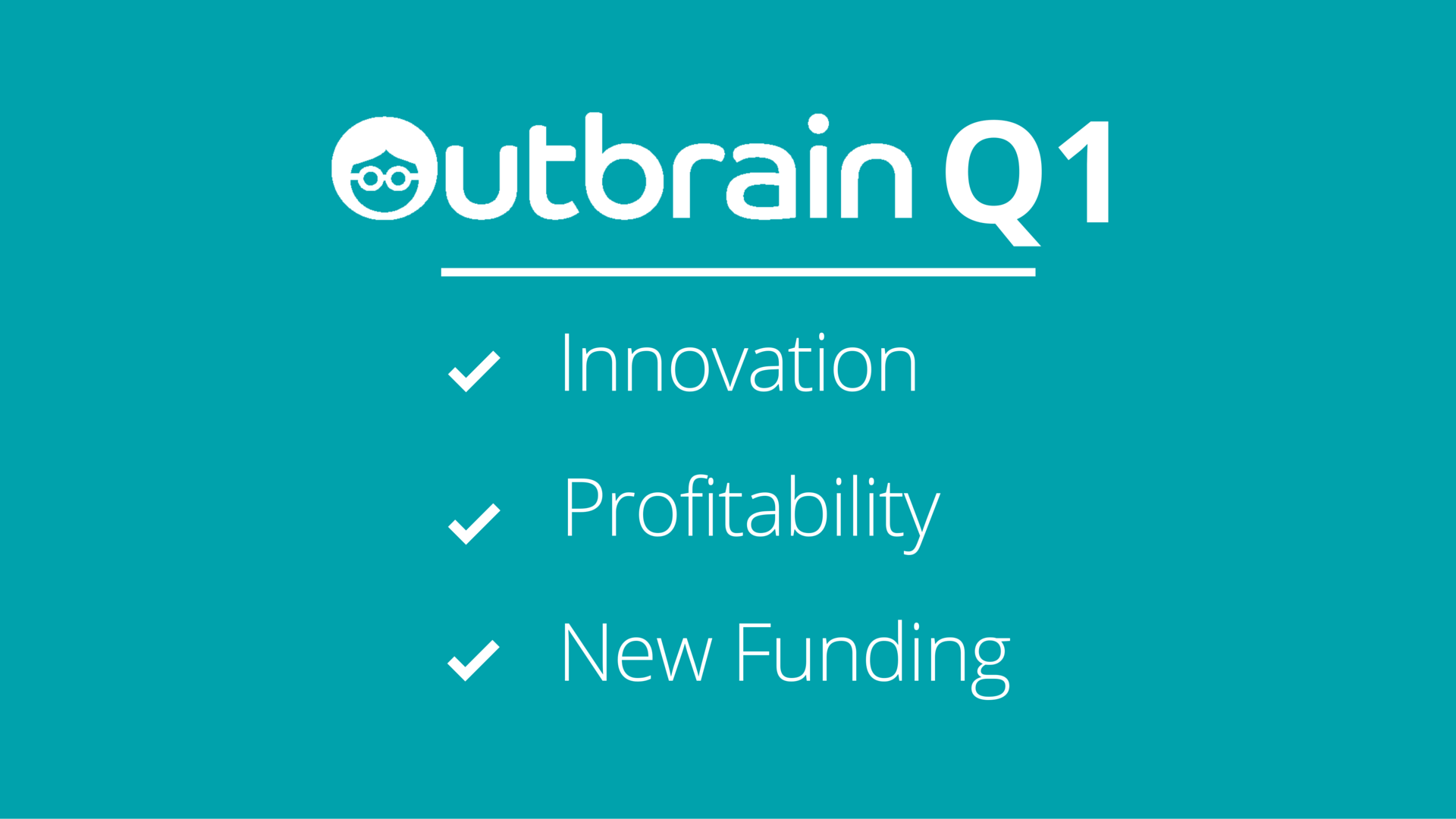 Busy Quarter- Q1 results