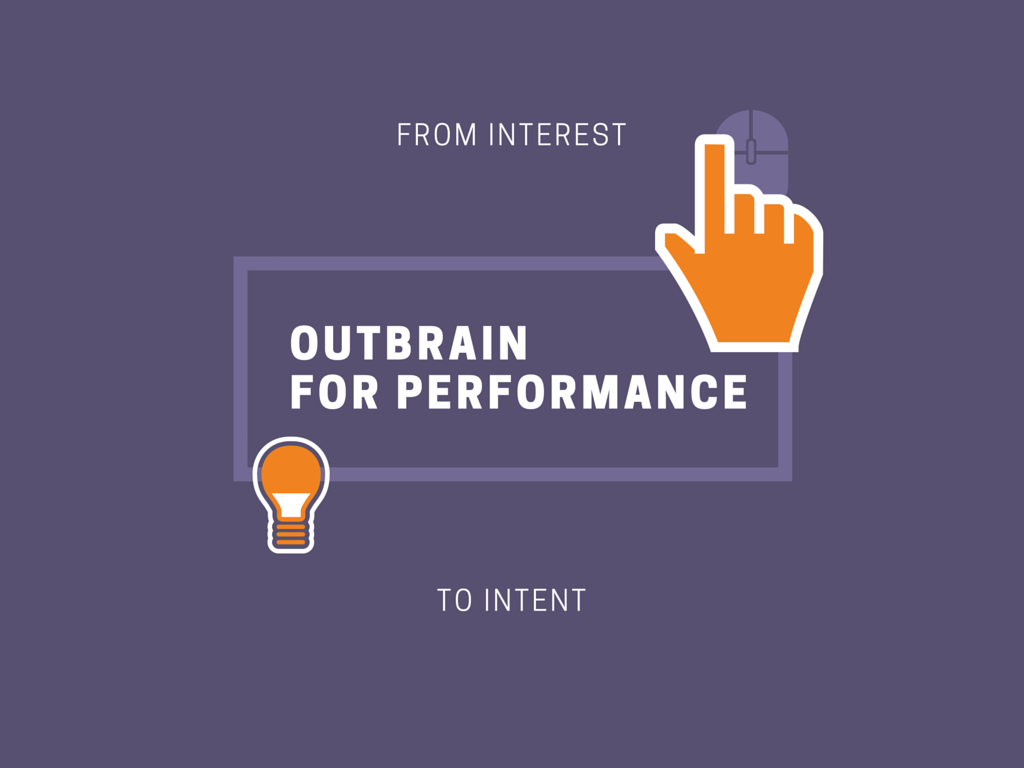 Outbrain for performance