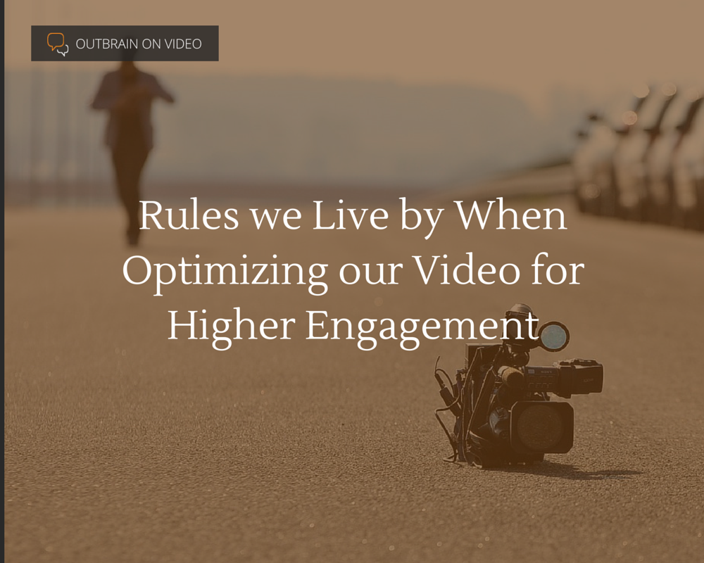 Optimizing our Video for Higher Engagement