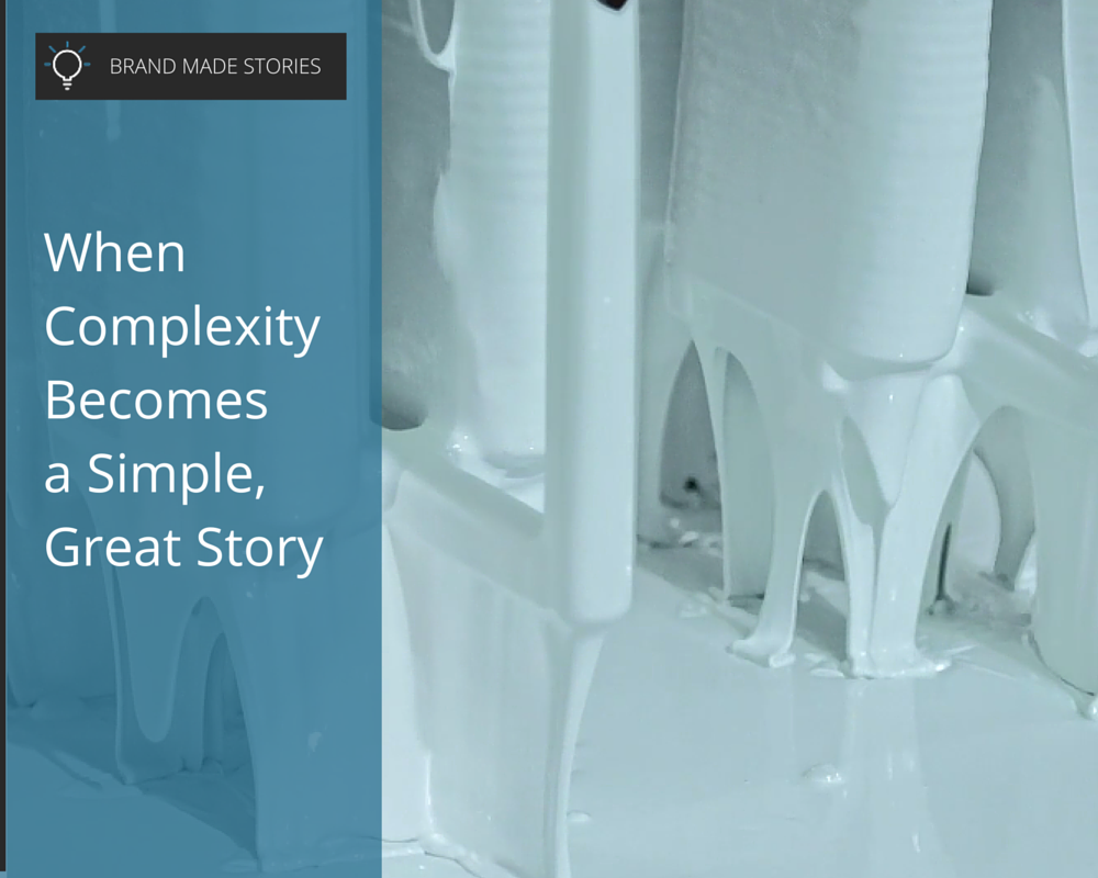 Brand Made Stories: Complex Simplicity