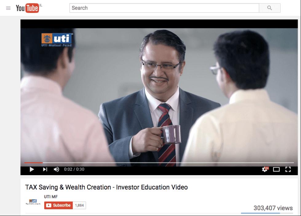 UTI content marketing video