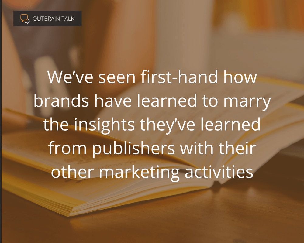 Brands Learning From Publishers