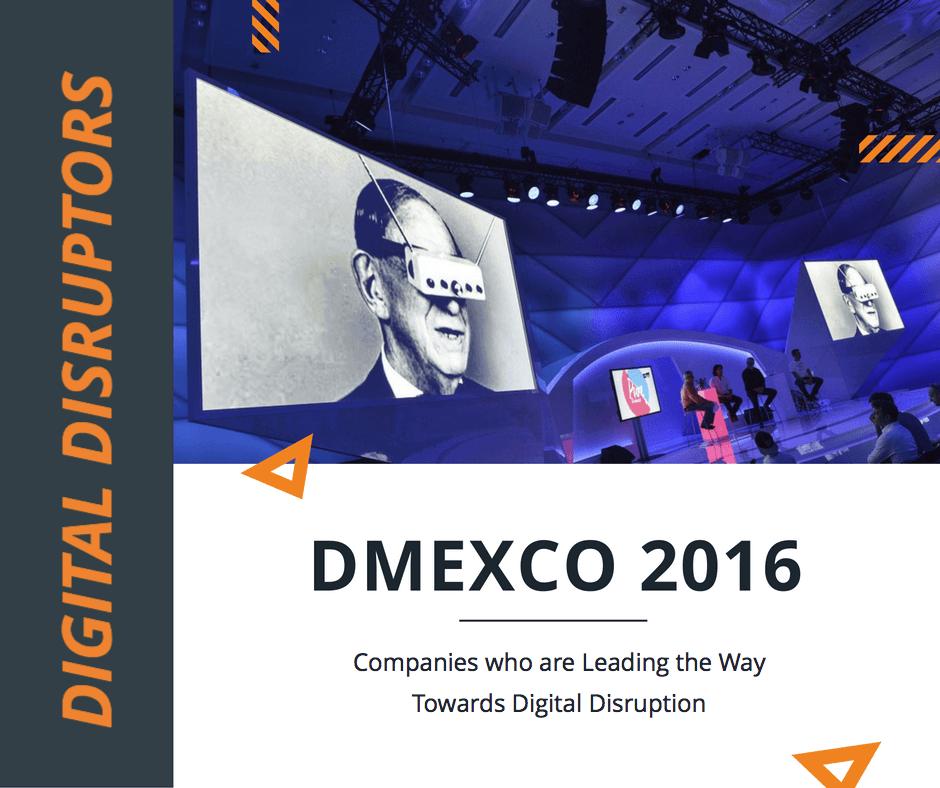Digital Disruptors at Dmexco 2016