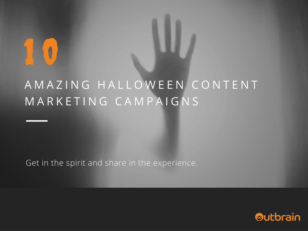 Halloween Content Marketing Campaigns