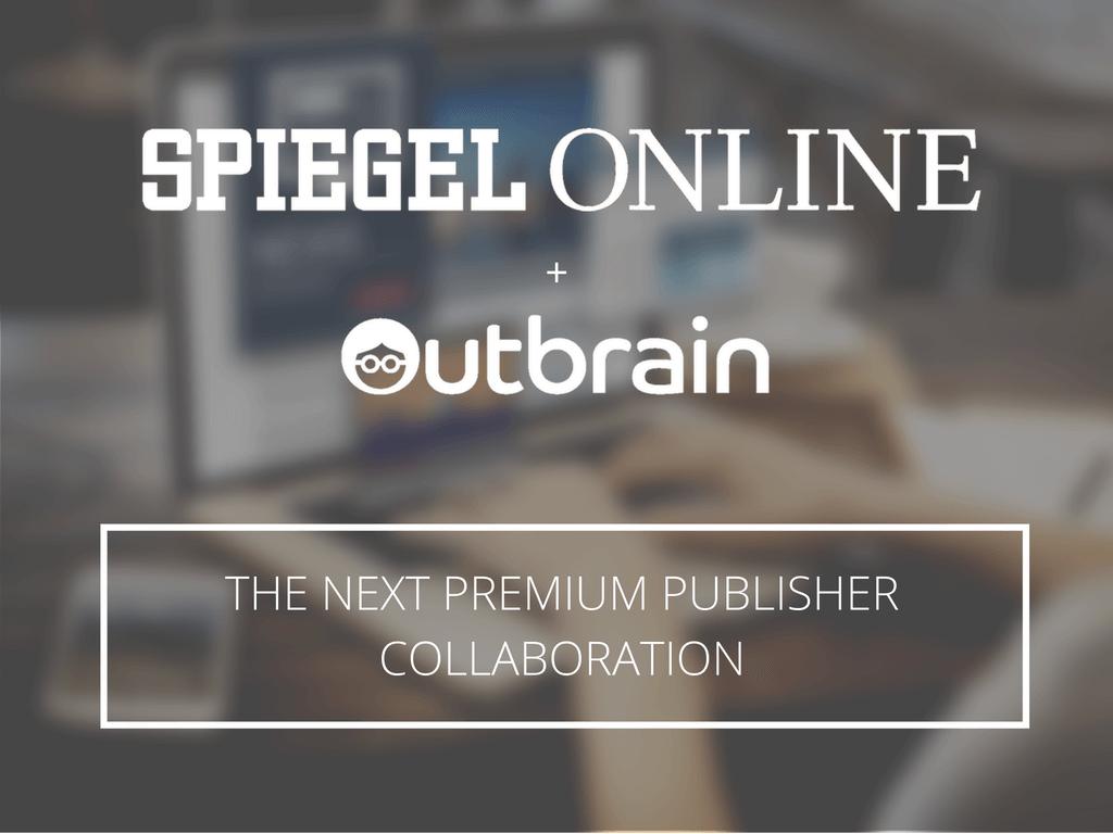 Spiegel Outbrain Partnership
