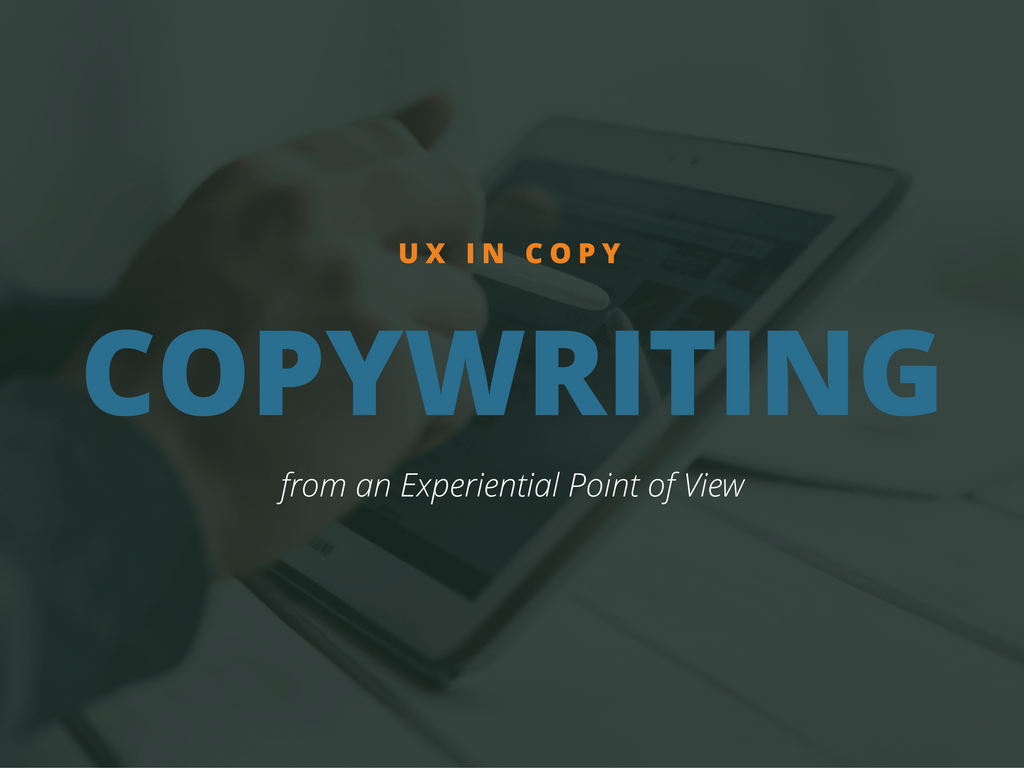 UX in copywriting