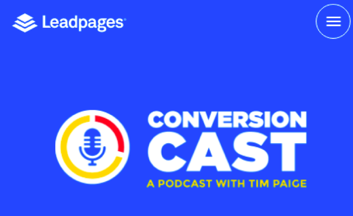 Leadpages Podcast - Conversion Cast
