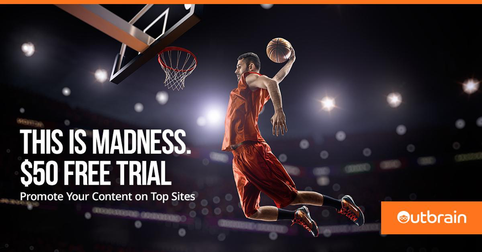 March Madness Facebook Ad