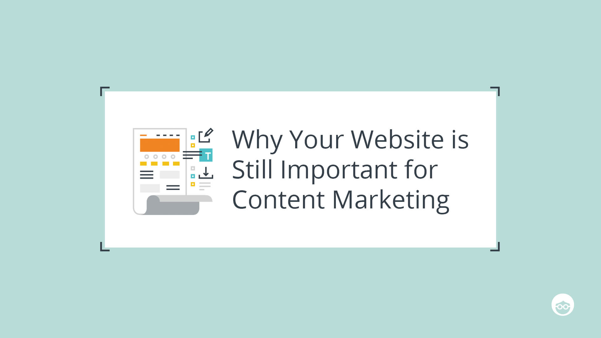 Website still important for content marketing