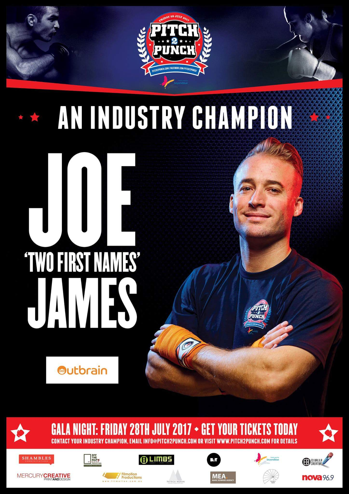 "Joe ""Two First Names"" James"