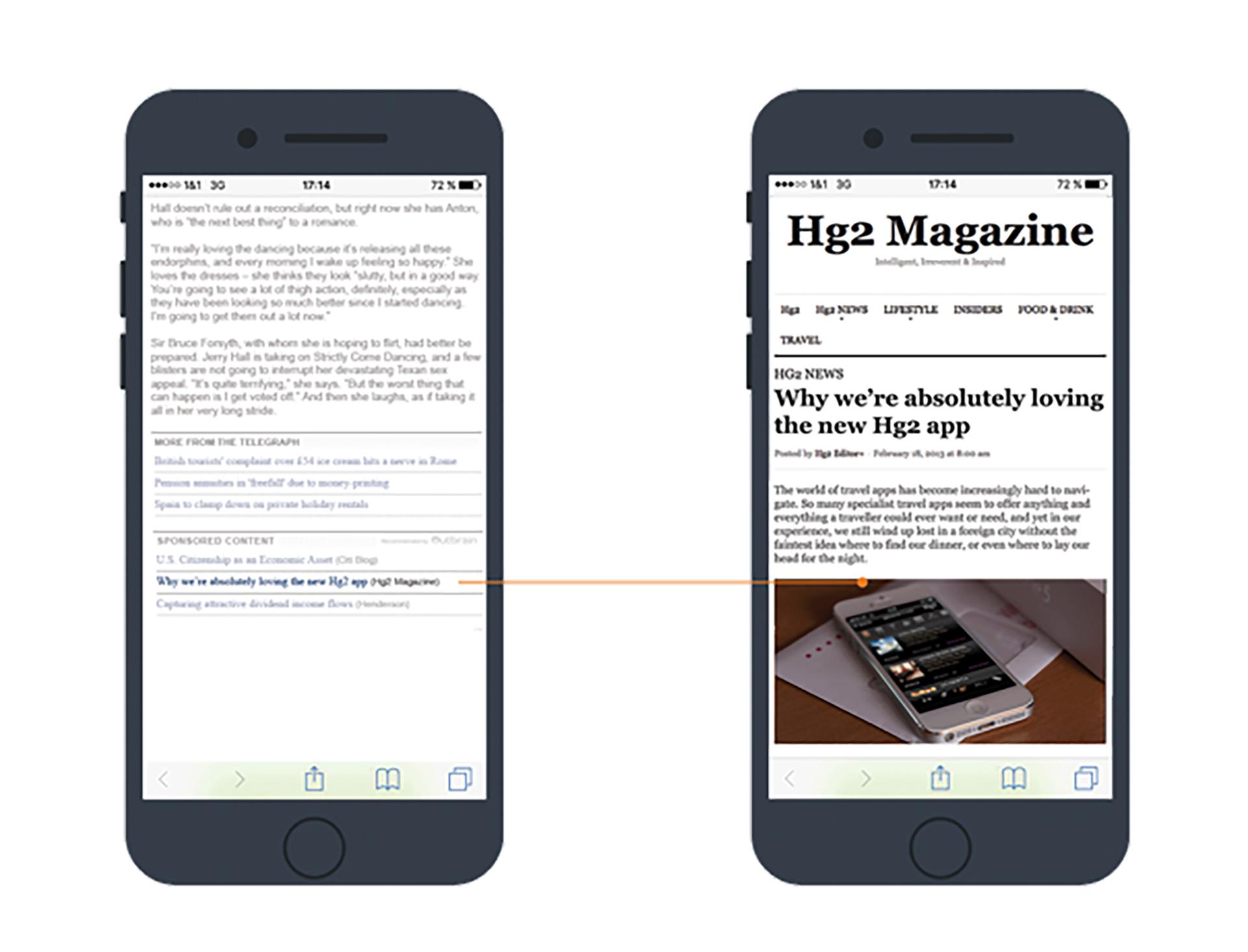 Hg2 magazine mobile