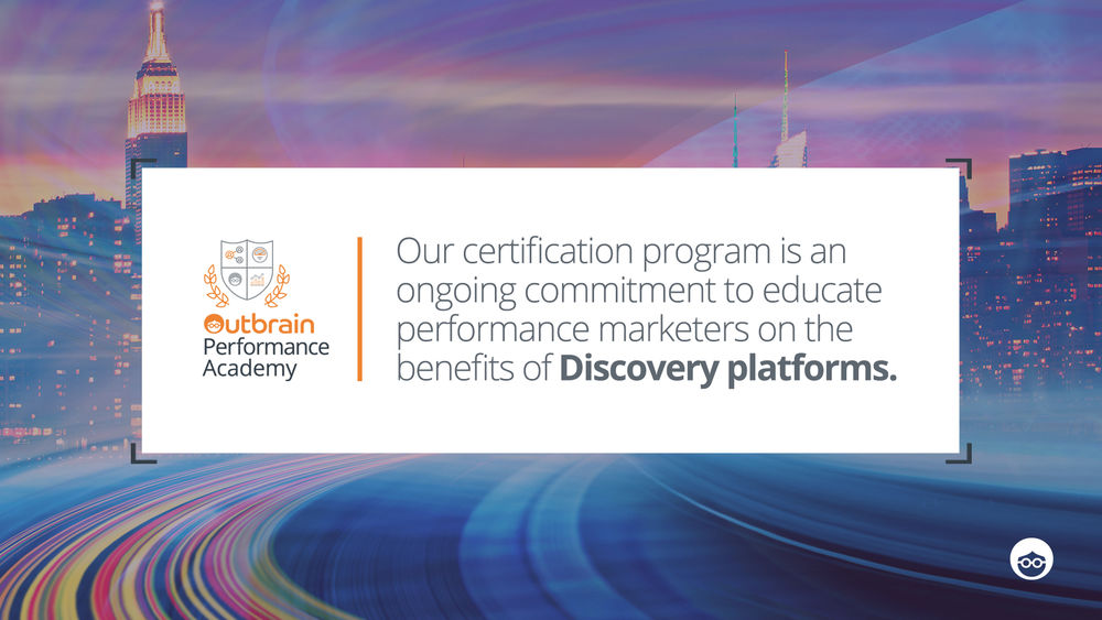 Outbrain's Certification Course