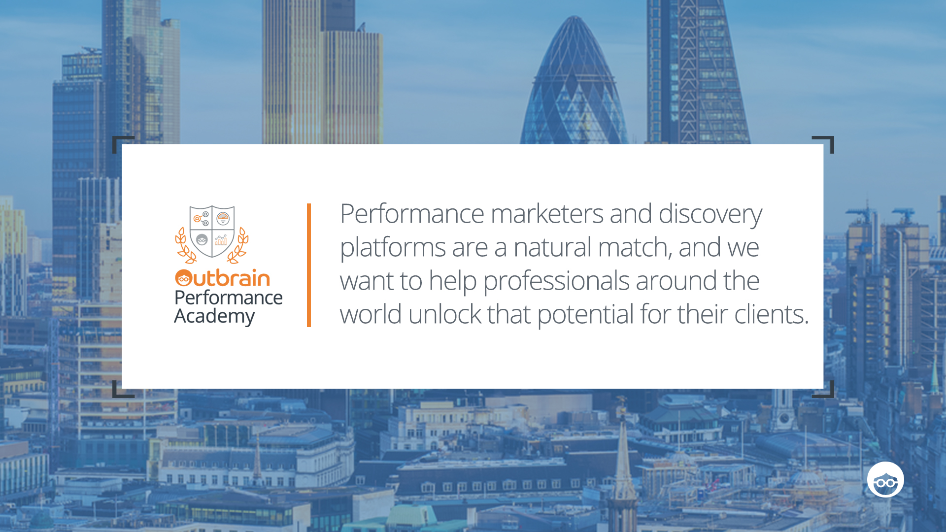 Outbrain Performance Academy Rolls out in the UK