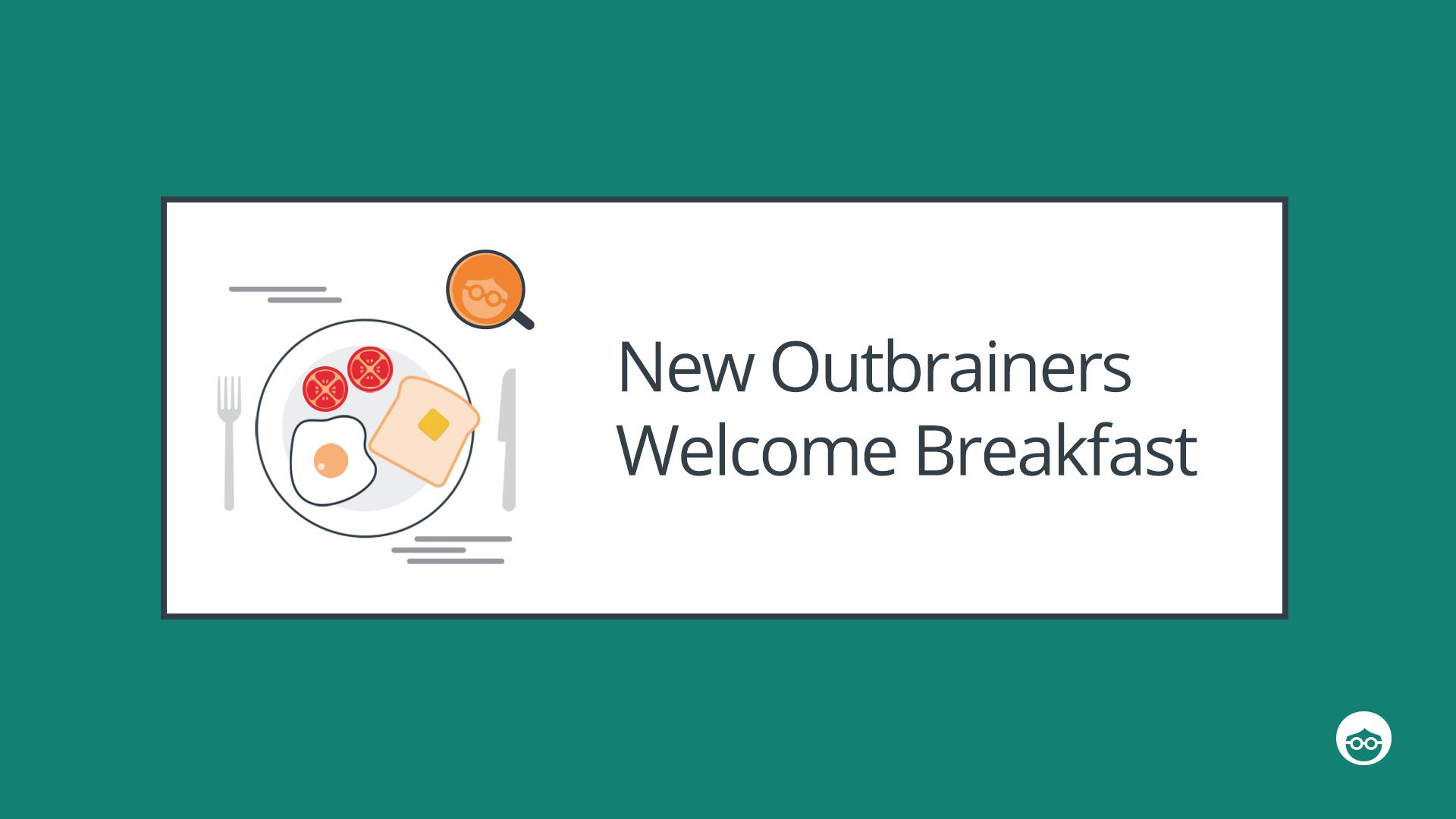 Welcome breakfast Outbrain Hiring