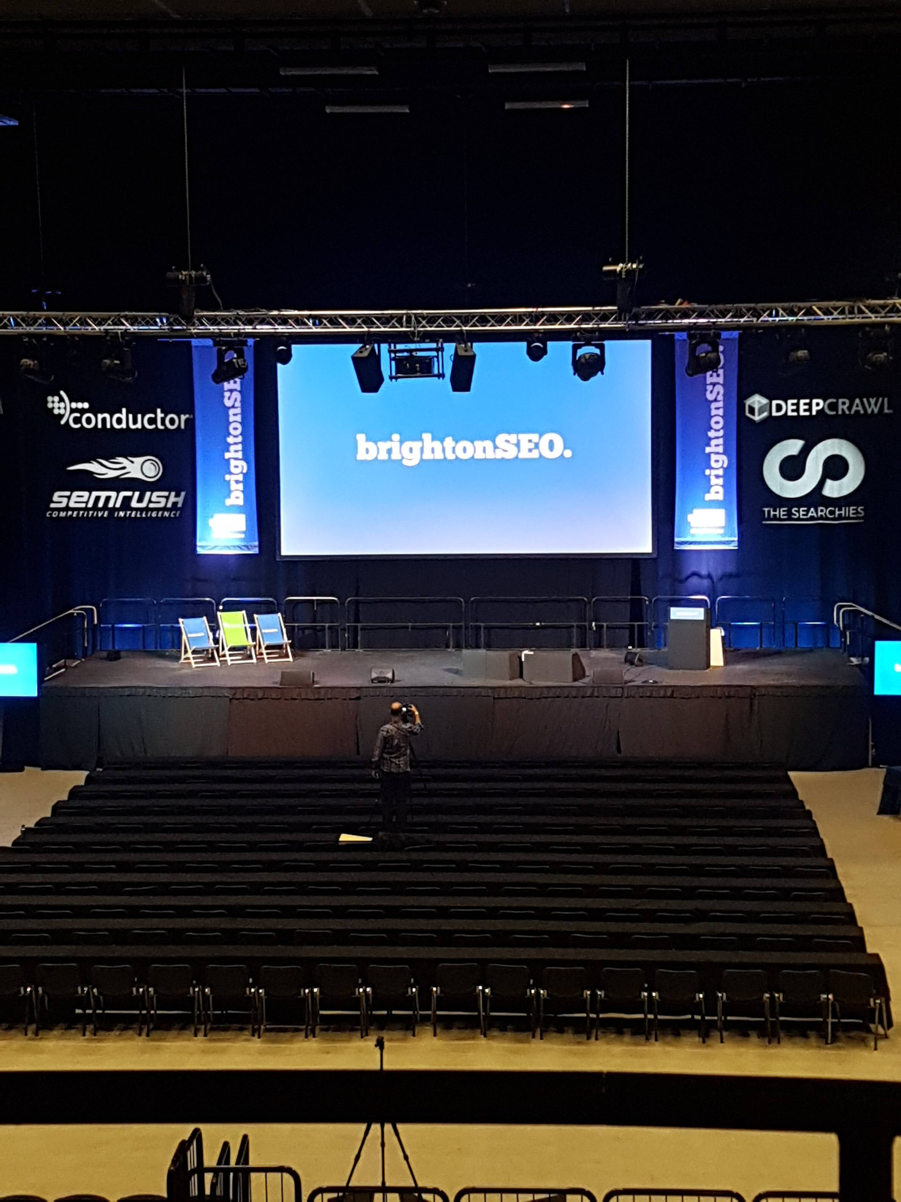 BrightonSEO stage