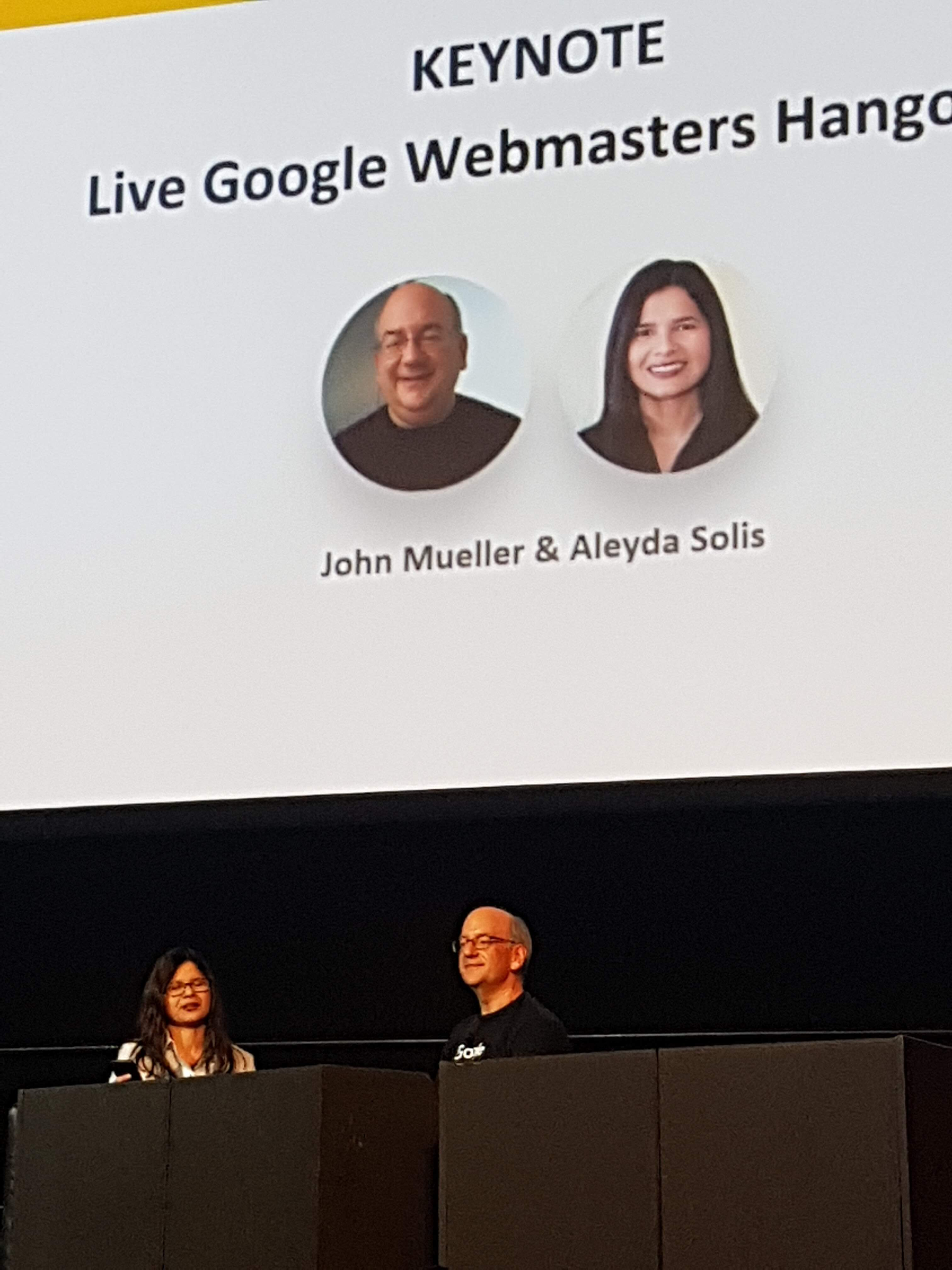 Aleyda Solis and John Muller