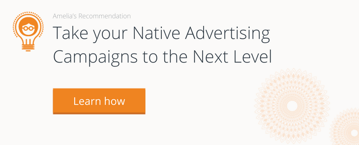 Outbrain native advertising campaign