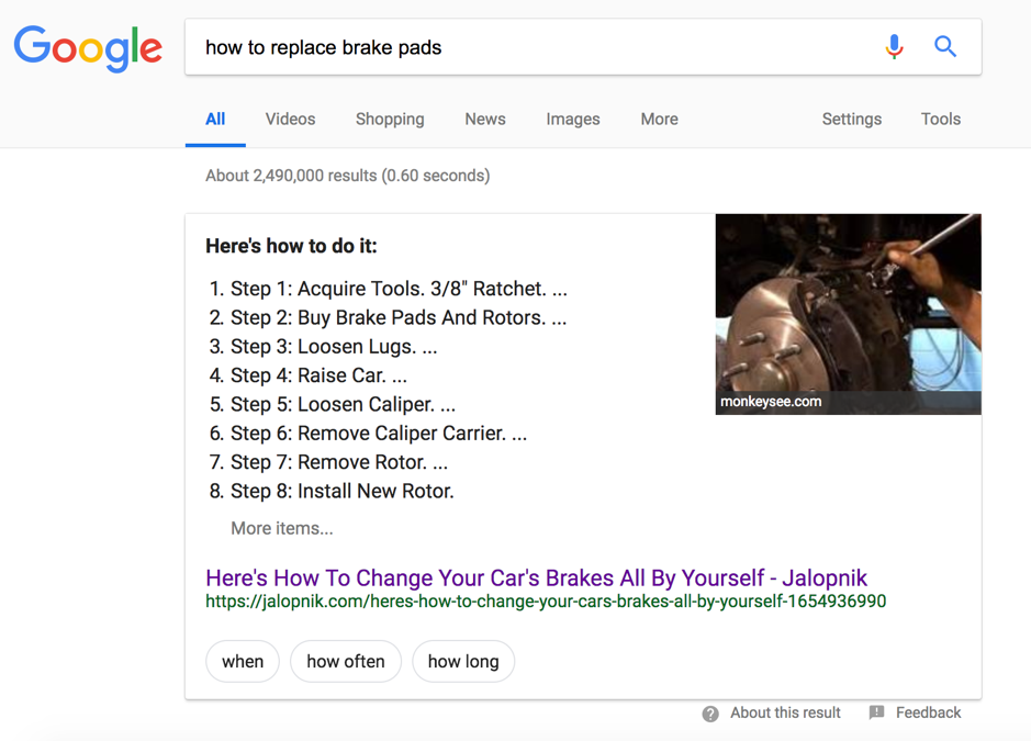 """""""how to replace brake pads."""""""