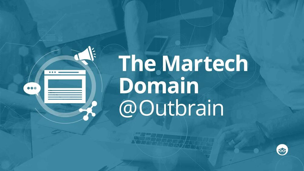 Behind the scenes- Martech at Outbrain