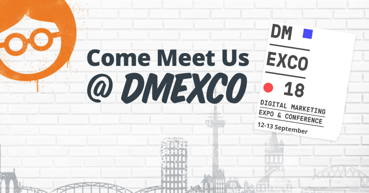 Meet us at DMEXCO 2018 in Cologne