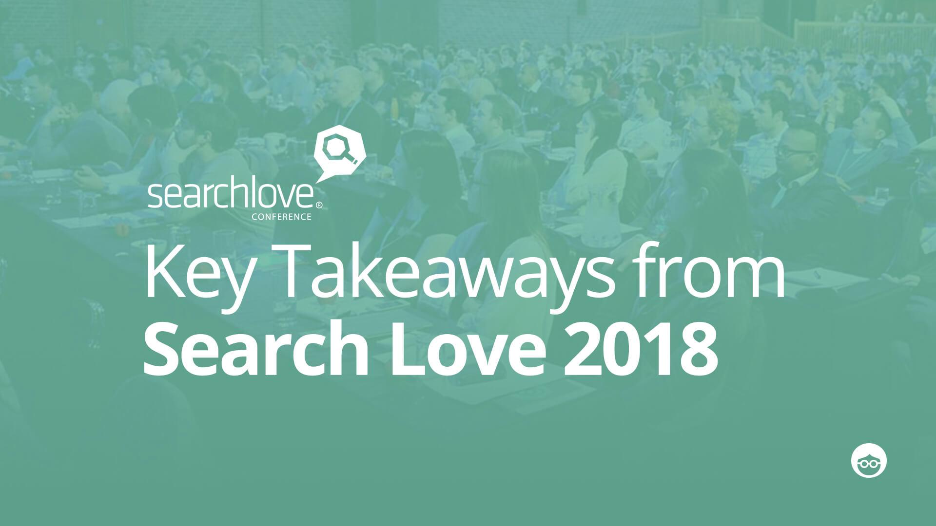 SearchLove 2018 recap