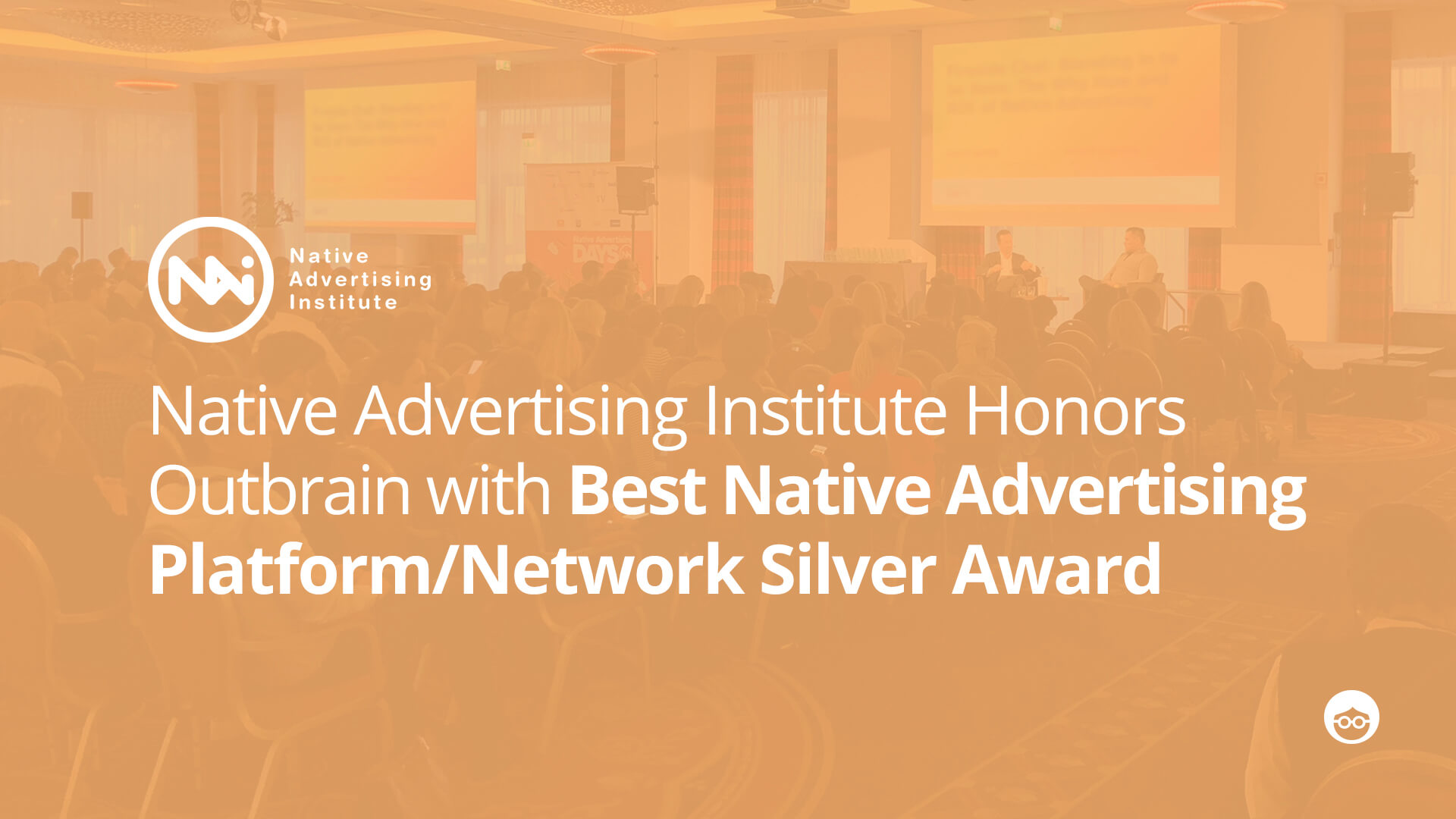 Native Advertising Institute Honors Outbrain with Best Native Advertising Platform/Network Silver Award