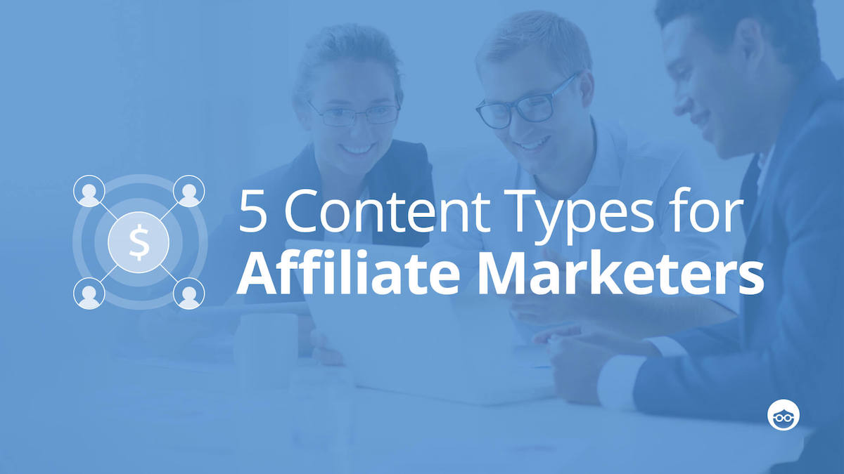 Affiliate content marketing