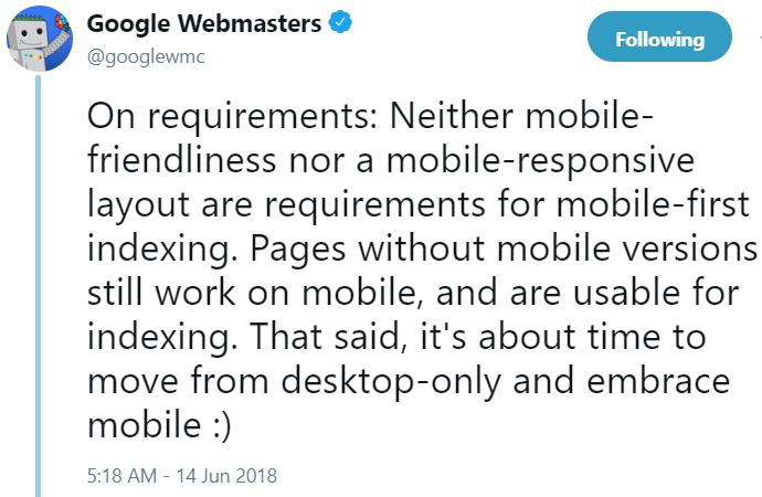 Google webmaster myth3