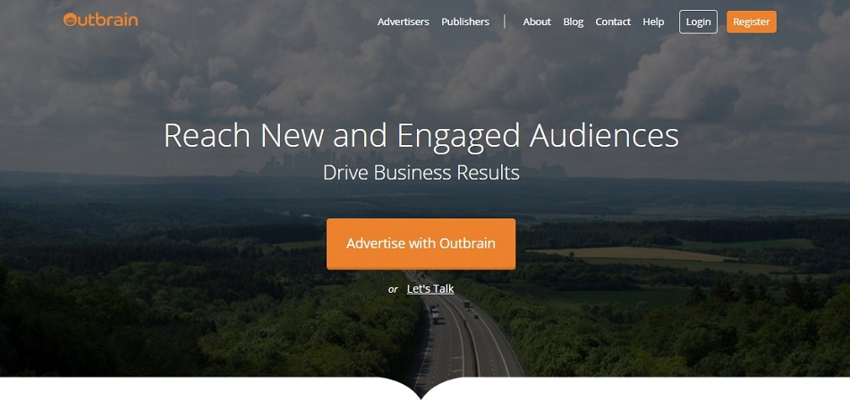 High Performing CTA - Outbrain