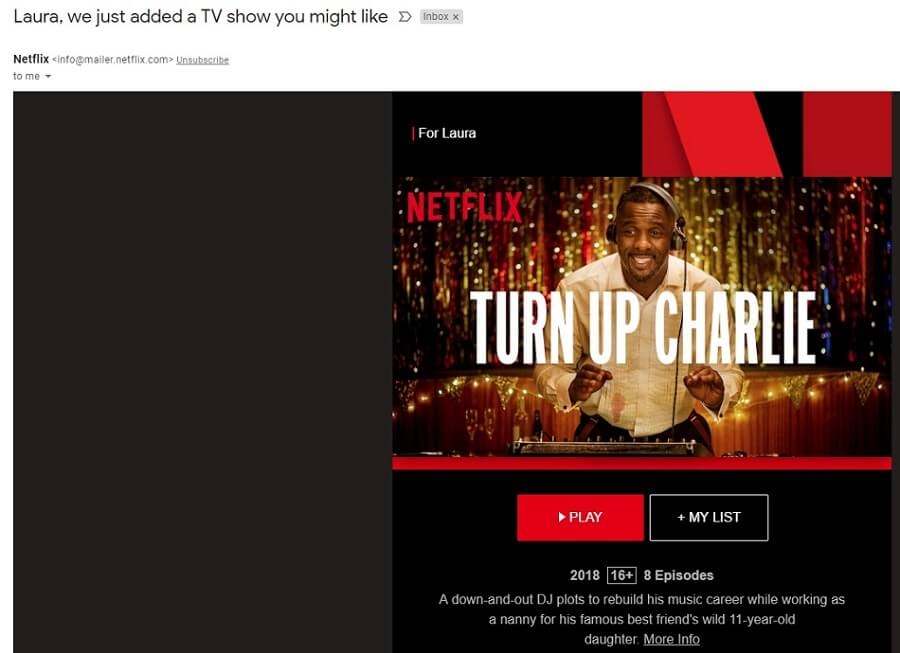 Netflix Call to Action - Outbrain